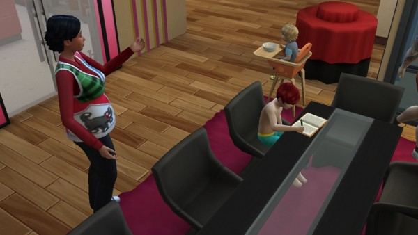 Mod The Sims: Perfect Nanny by Outburstt