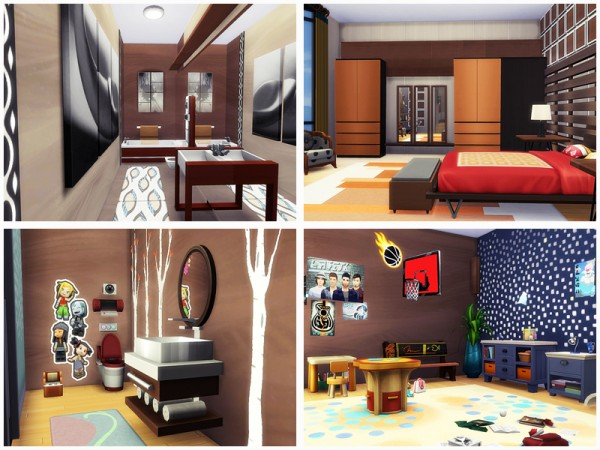 The Sims Resource: Modern Loft by Danuta720