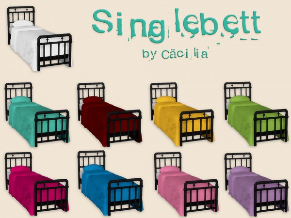 Akisima Sims Blog: Single bed