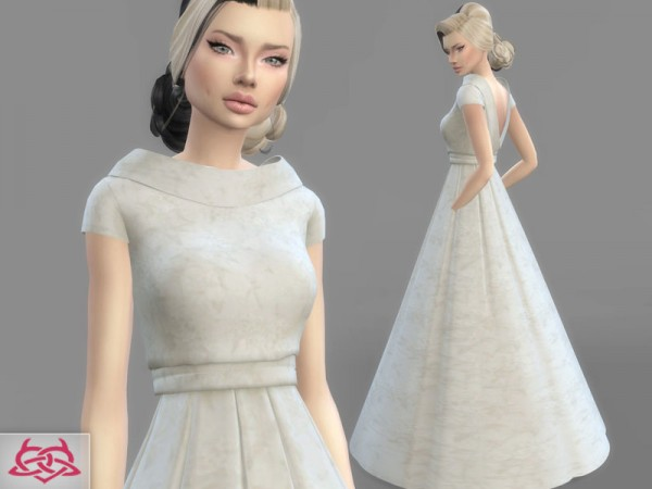 The Sims Resource Wedding Dress 6 By Colores Urbanos