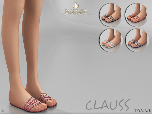 The Sims Resource: Madlen`s Clauss Shoes by MJ95