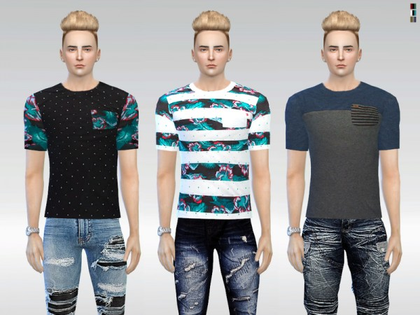 The Sims Resource: Asphalt Tees by McLayneSims