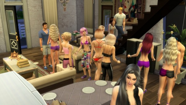 Mod The Sims: Invite Into Home Longer by zcrush
