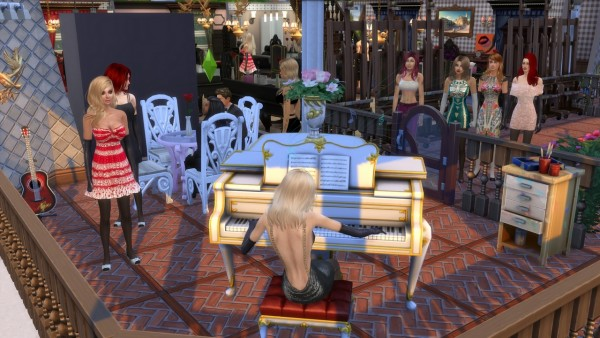 Mod The Sims: Black and White Party Fix by zcrush