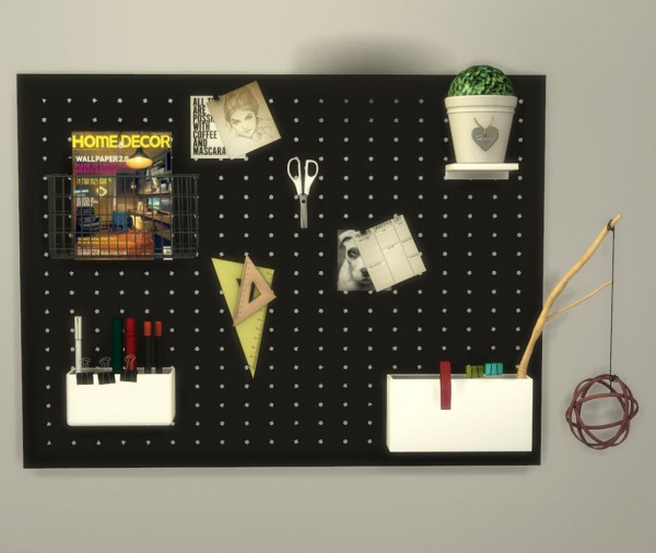 Leo 4 Sims: Build Your Peg Board