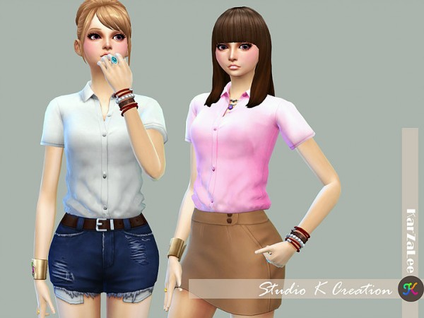 Studio K Creation: Tucked Plain shirt