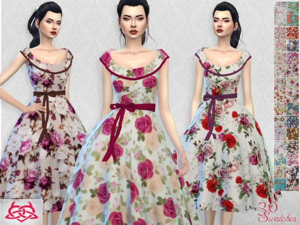 The Sims Resource: Romi dress recolor 2 by Colores Urbanos