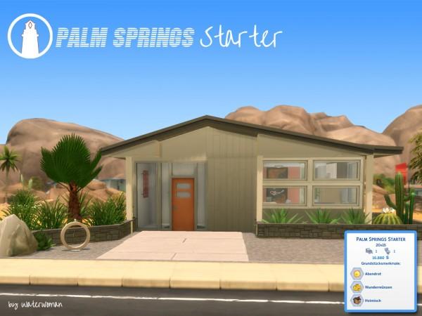 Akisima Sims Blog: Palm Springs Starter