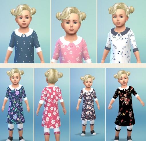 Birkschessimsblog: Toddler's FlowerSuit