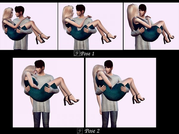 The Sims Resource: Couple poses 1 by BexoSims • Sims 4
