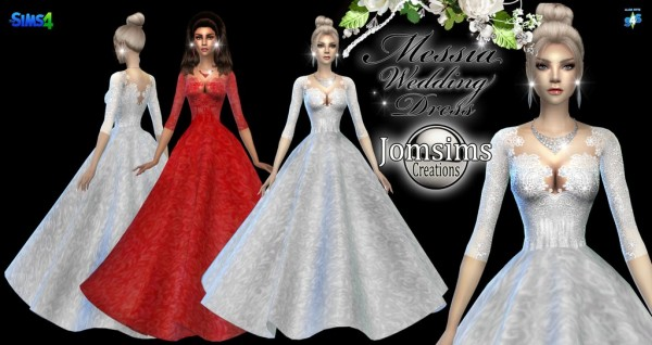 Jom Sims Creations: Messia dress