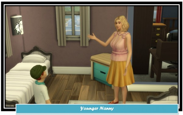 Mod The Sims: Younger Nannies and Regular Nanny Service by LittleMsSam