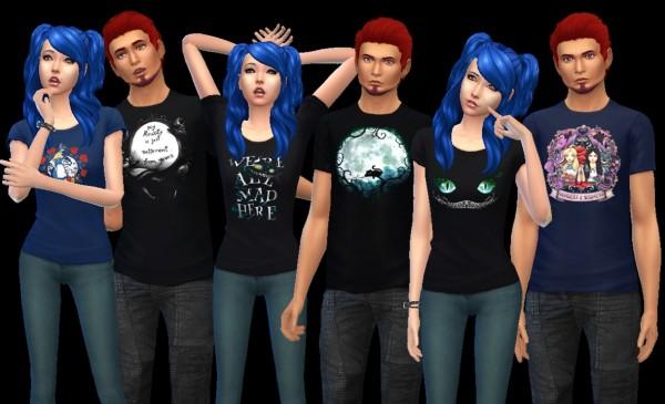 Auri Sims: Alice Shirts