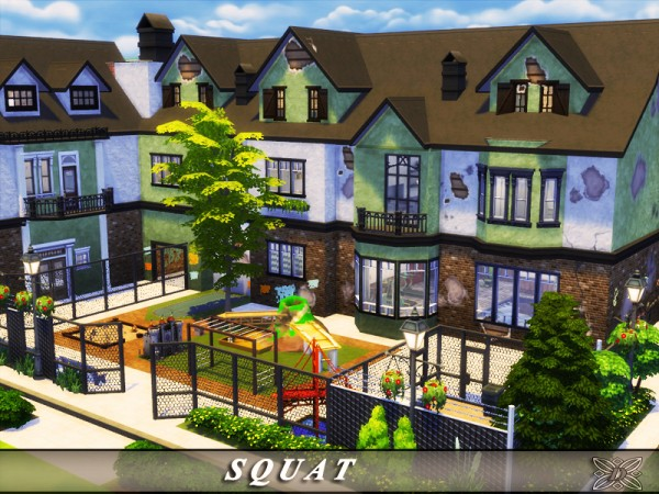 The Sims Resource: SQUAT house by Danuta720