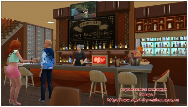Sims 3 by Mulena: Restaurant Caprice