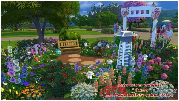 Sims 3 by Mulena: Our courtyard 4