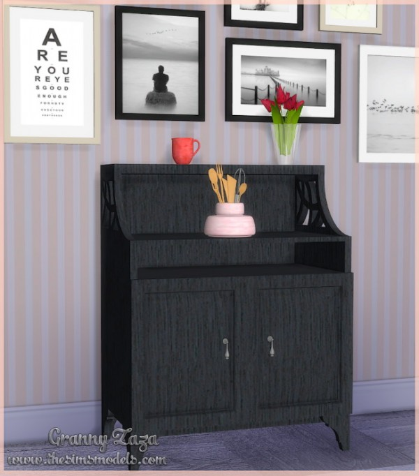 The Sims Models: Set of decor by Granny Zaza