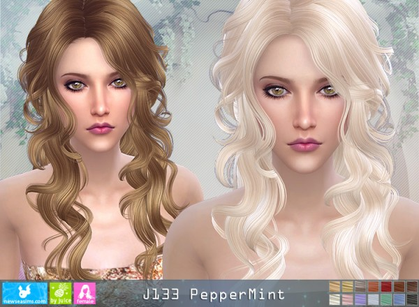 NewSea: J133 Pepper Mint donation hairstyle
