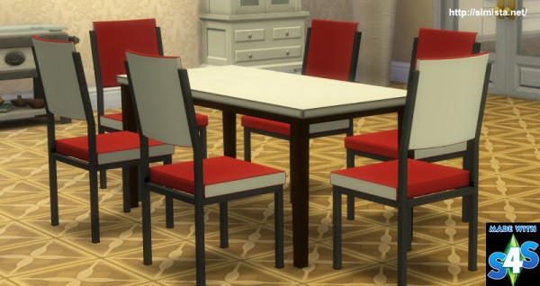 Simista: Retro Table and chairs