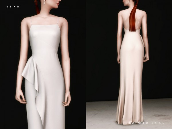 The Sims Resource: Natasha Dress by SLYD