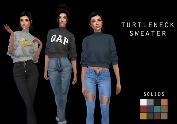 Leo 4 Sims: Turtleneck Sweater