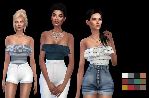 Leo 4 Sims: Mireya Bodysuit recolor