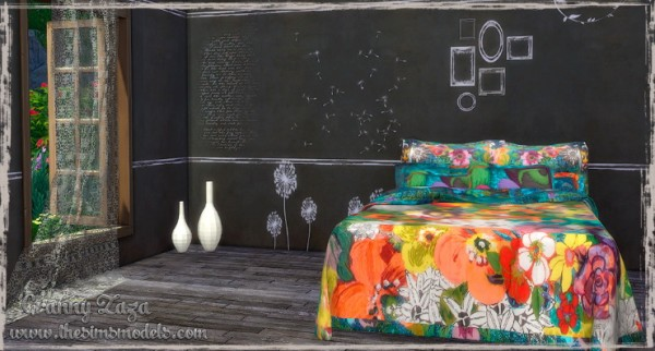 The Sims Models: Decor and walls by Granny Zaza