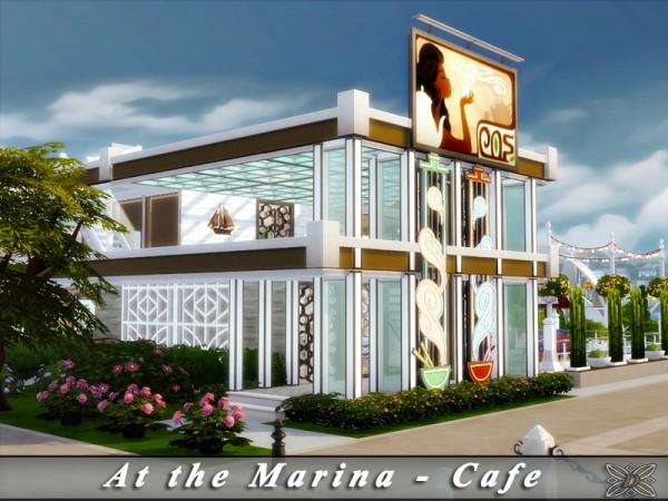 The Sims Resource: At the Marina   Cafe No CC by Danmuta720