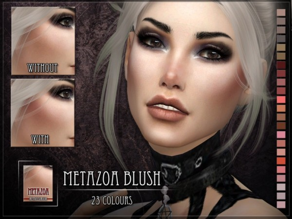 The Sims Resource: Metazoa Blush by RemusSirion