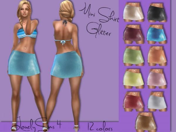 Simsworkshop: Mini skirt 24 colors by MaKySeK1989
