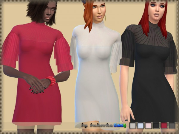 The Sims Resource: Dress coll 070517 by bukovka