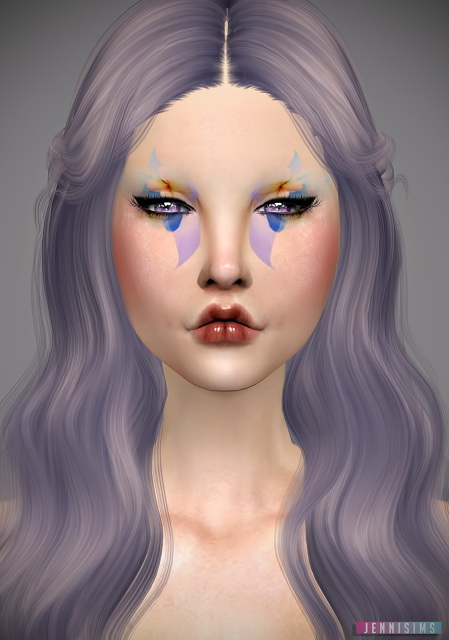 Jenni Sims: Spring Petals Eyeshadow
