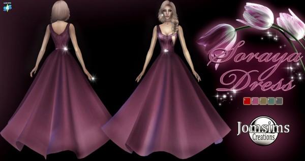 Jom Sims Creations: Soraya dress