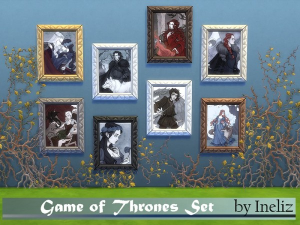 The Sims Resource: Game of Thrones Set by Ineliz