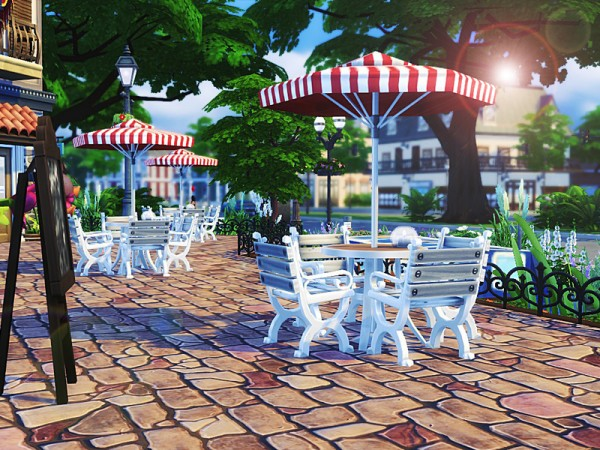 The Sims Resource: Venice Restaurant by MychQQQ