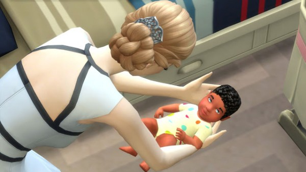 Sanjana Sims: Sweet Baby Skin Set with Curly Hair