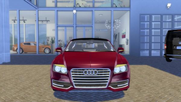 OceanRAZR: Audi R7 Concept Coupé