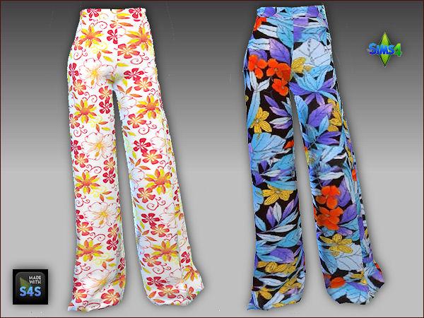 Arte Della Vita: 5 palazzo pants with 5 tops