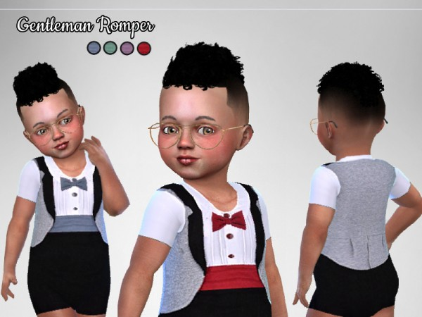 The Sims Resource: Gentleman Romper by Puresim