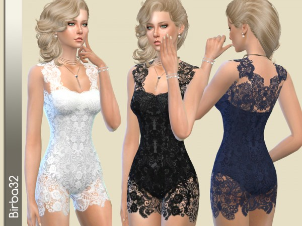 The Sims Resource: Adele suit by Birba32