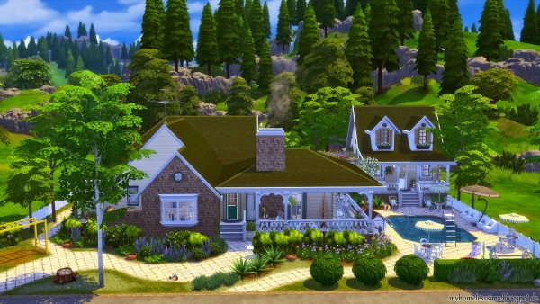 Homeless Sims: Traditional Family Home