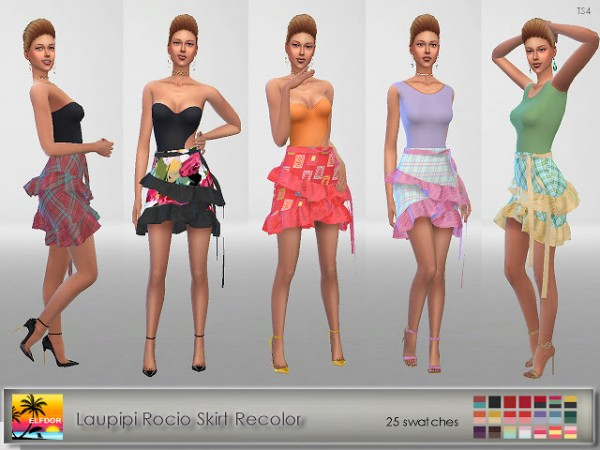 Elfdor: Laupipi Rocio Skirt Recolor
