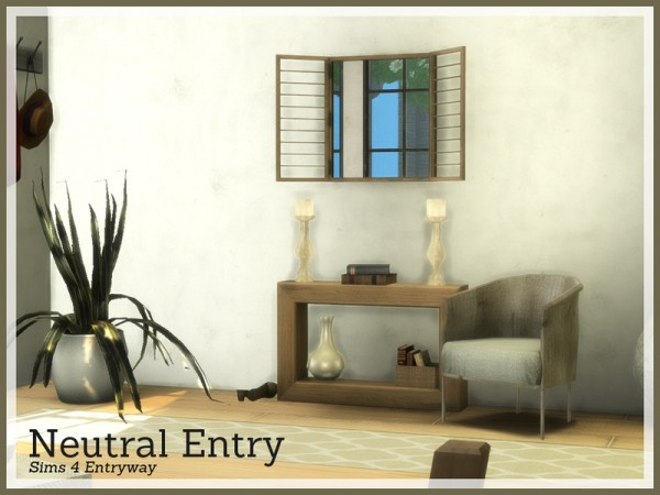 The Sims Resource: Neutral Entry by Angela