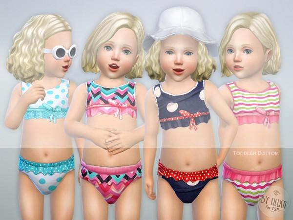 The Sims Resource: Toddler Bikini Set P01 by lillka