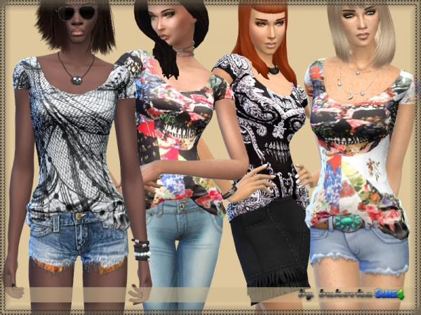 The Sims Resource: Shirt Fashion by bukovka