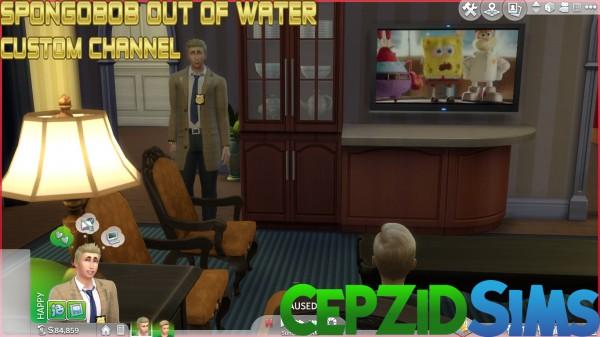 Simsworkshop: Spongebobob Out of Water Custom Channel by cepzid