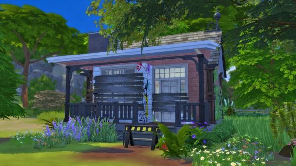 Les Sims 4: Abandoned house