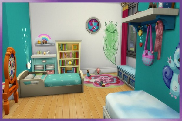 Blackys Sims 4 Zoo: Miranda Kids room by Cappu