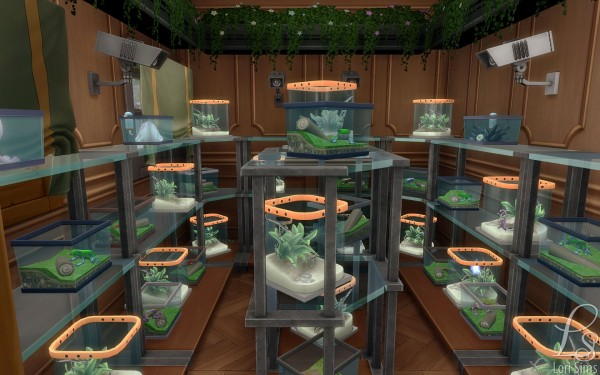 Mod The Sims: Old Square Market (noCC) by Oloriell