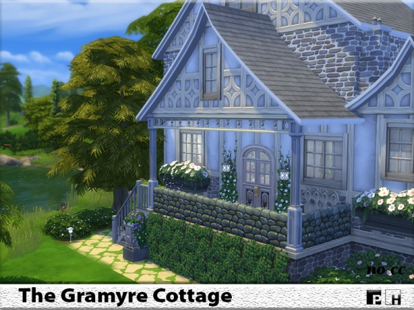 The Sims Resource: The Gramyre Cottage by Pinkfizzzzz